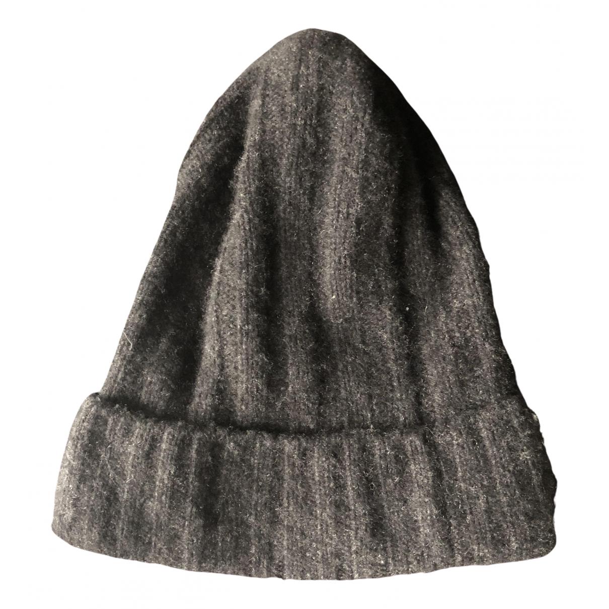 The Elder Statesman - Chapeau & Bonnets   pour homme en cachemire - anthracite