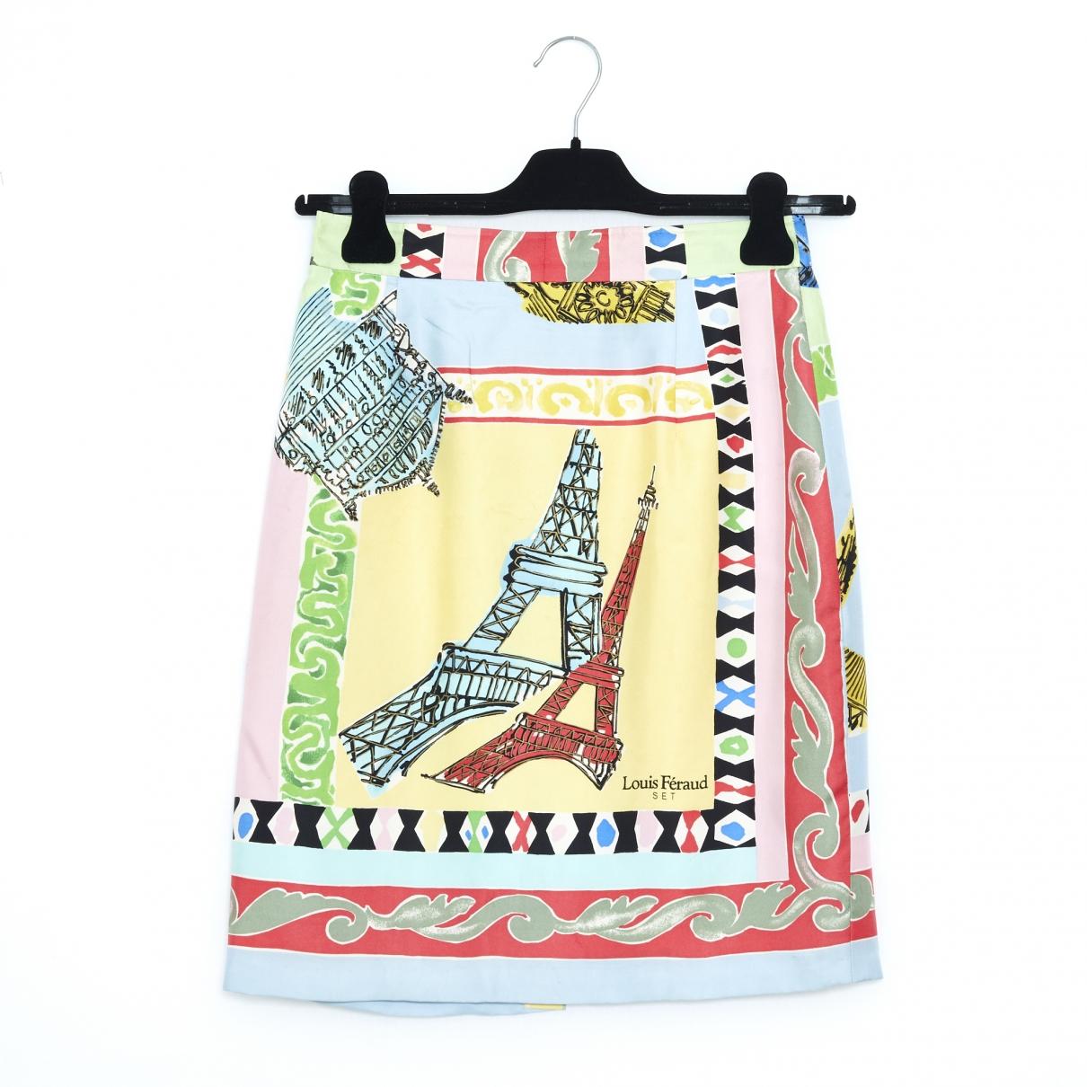 Louis Feraud - Jupe   pour femme en soie - multicolore