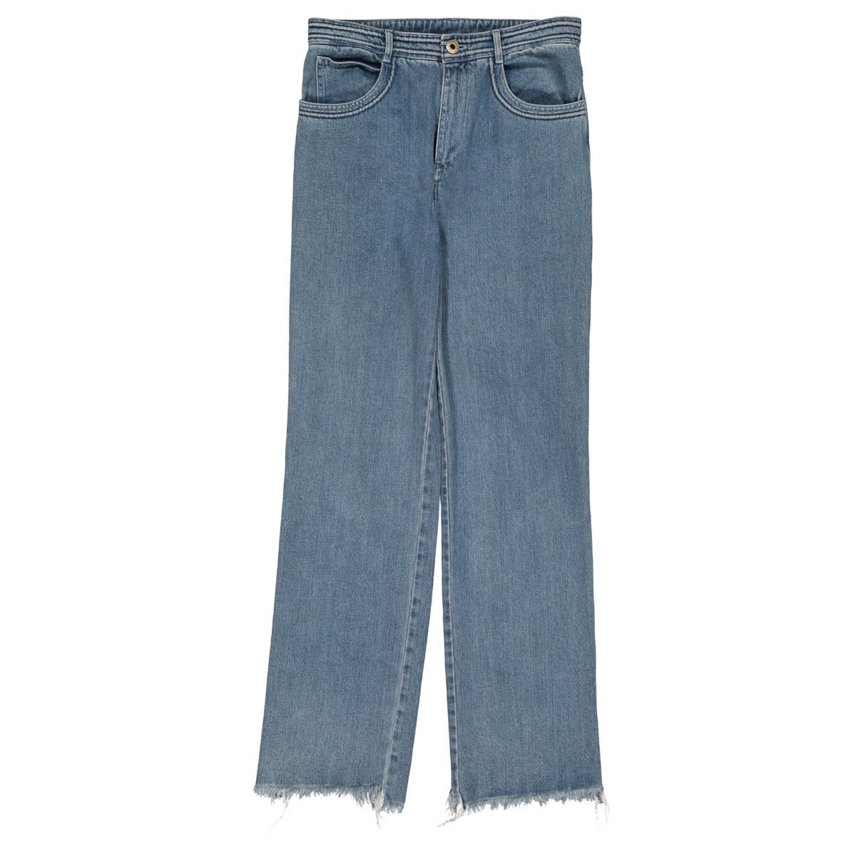 Chloé \N Blue Cotton Jeans for Women 36 FR