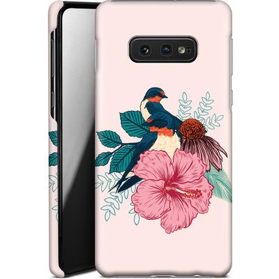 Samsung Galaxy S10e Smartphone Huelle - Barn Swallows von Mat Miller