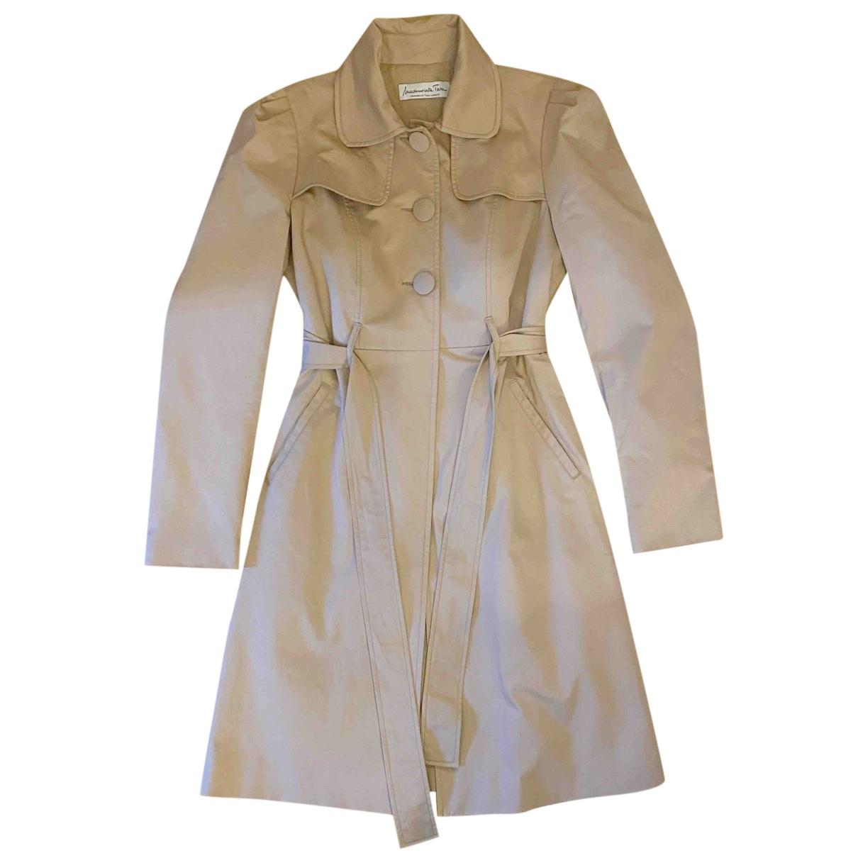 Tara Jarmon - Trench   pour femme en coton - beige