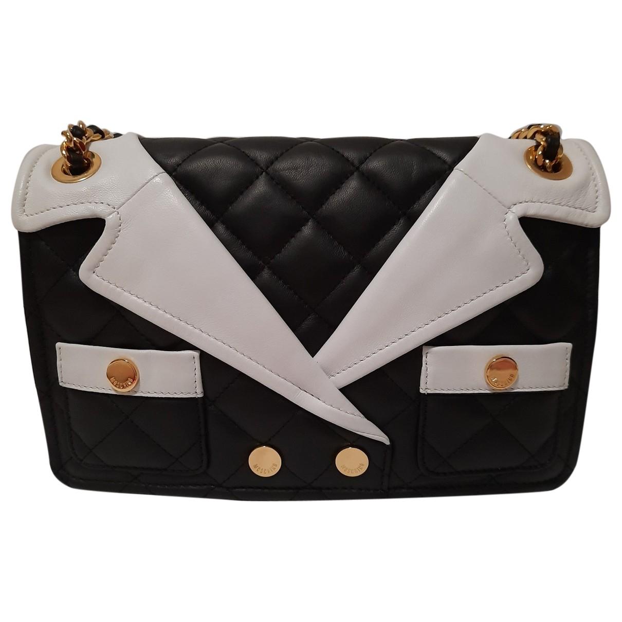 Moschino \N Black Leather handbag for Women \N