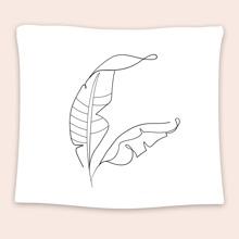 Leaf Print Tapestry