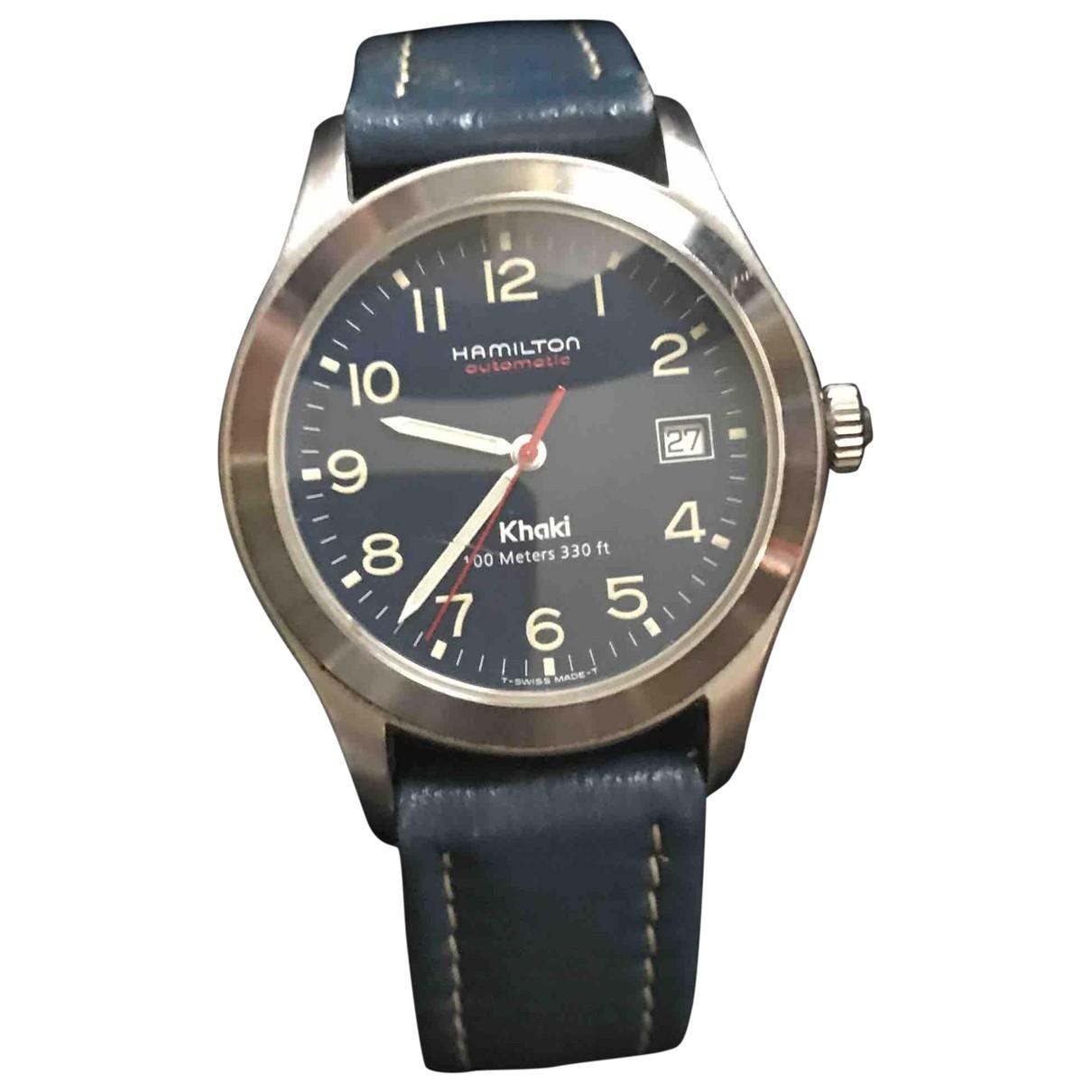 Hamilton Khaki Below Zero Phantom Blue Steel watch for Men \N