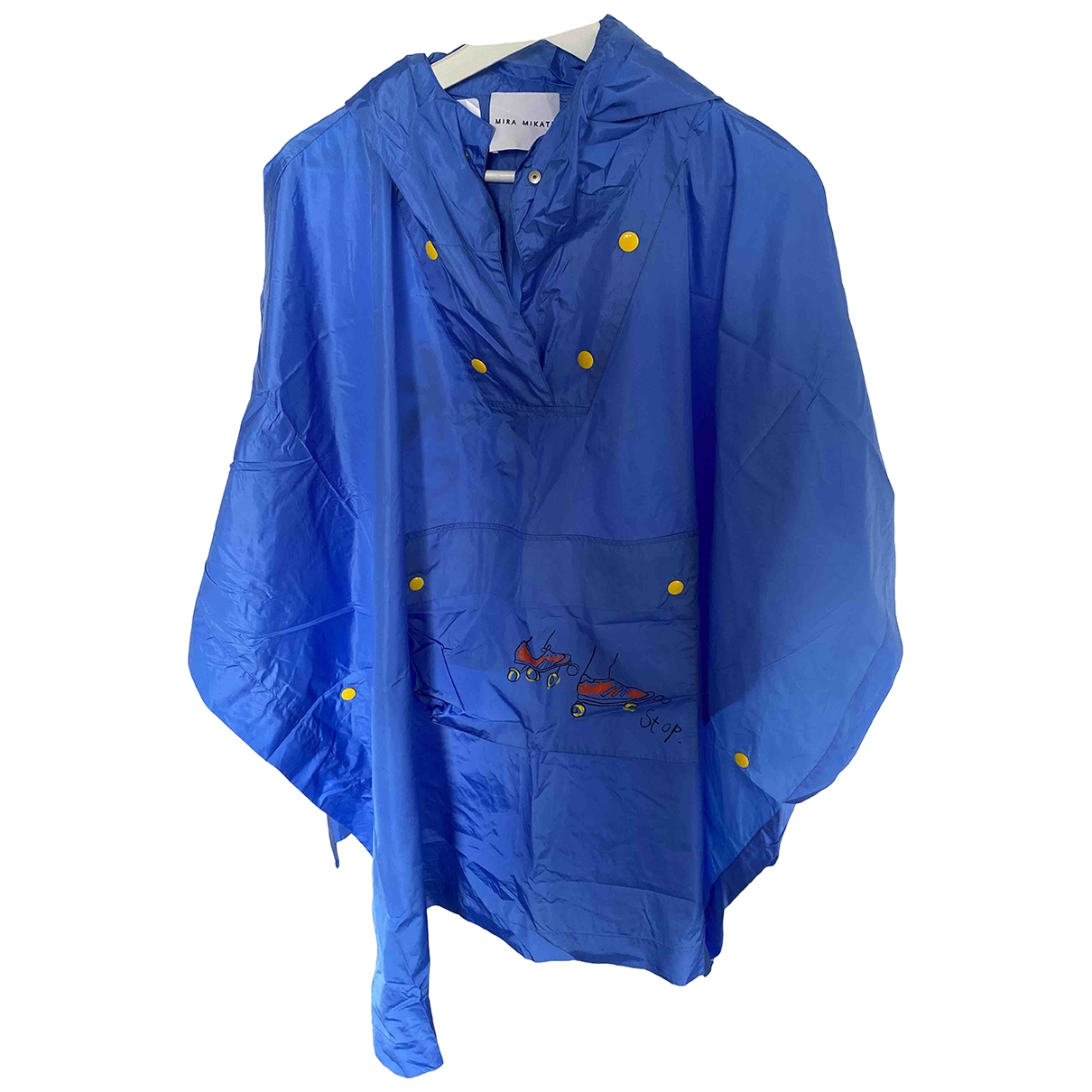 Mira Mikati \N Blue coat for Women One Size FR
