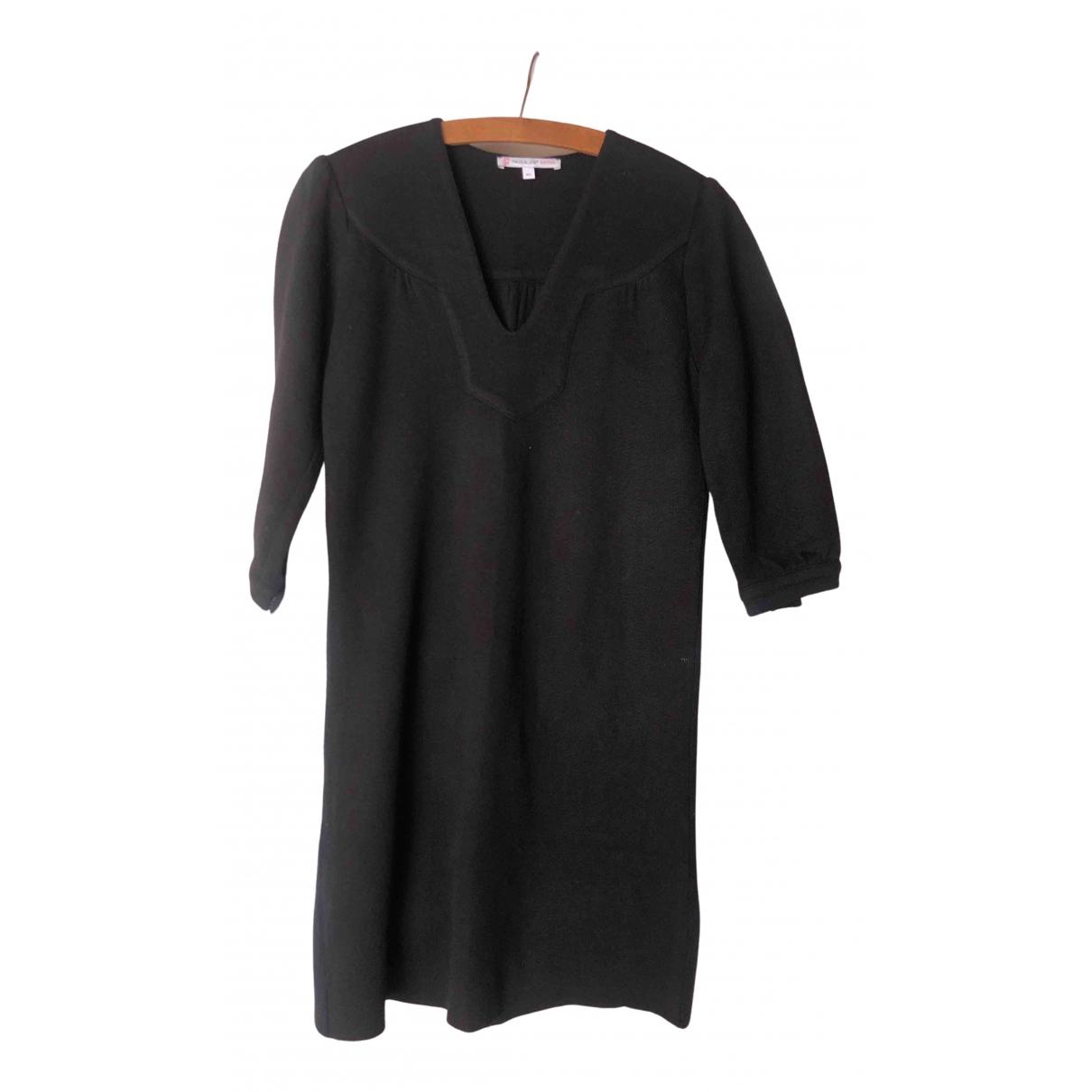 Paul & Joe Sister - Robe   pour femme en laine - noir