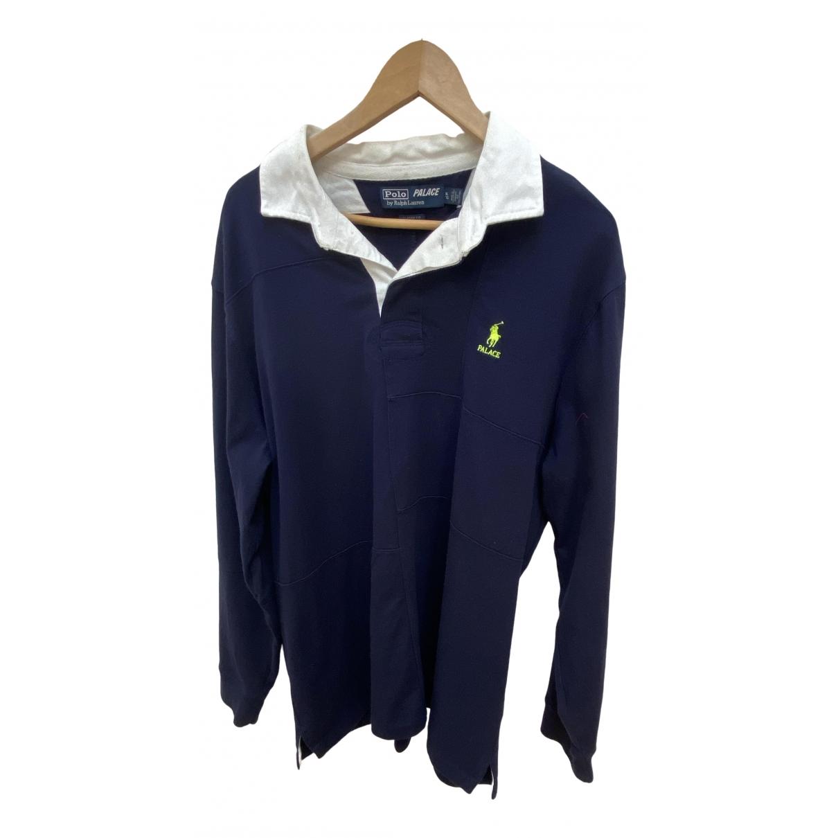Polo Ralph Lauren \N Pullover.Westen.Sweatshirts  in  Marine Baumwolle