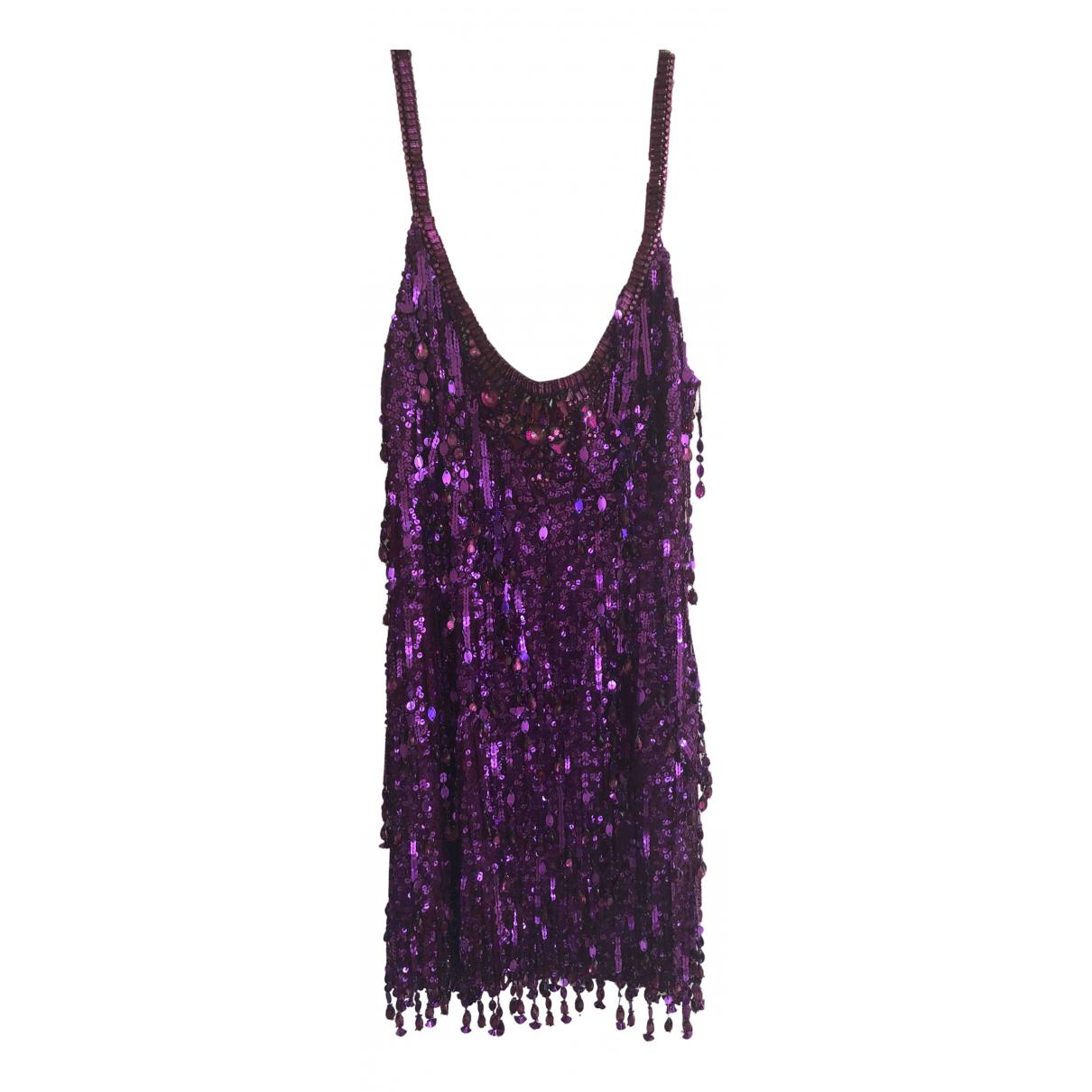 Jenny Packham N Purple Silk dress for Women 12 UK