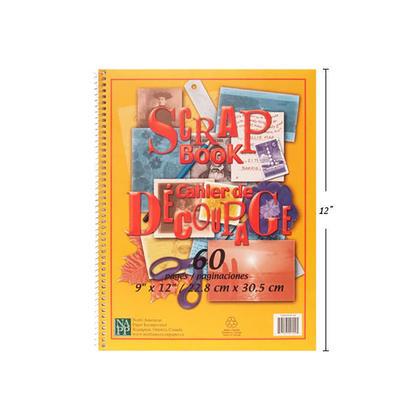 Coil Scrapbook, DIY Albums Memory Book, 60 Pages, 9