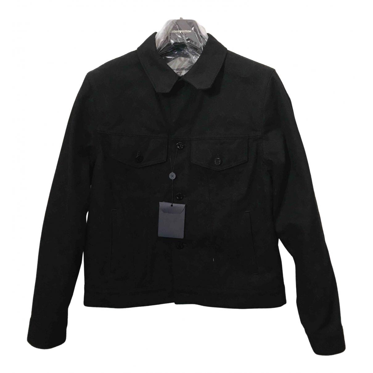Louis Vuitton N Black Denim - Jeans jacket  for Men 50 FR