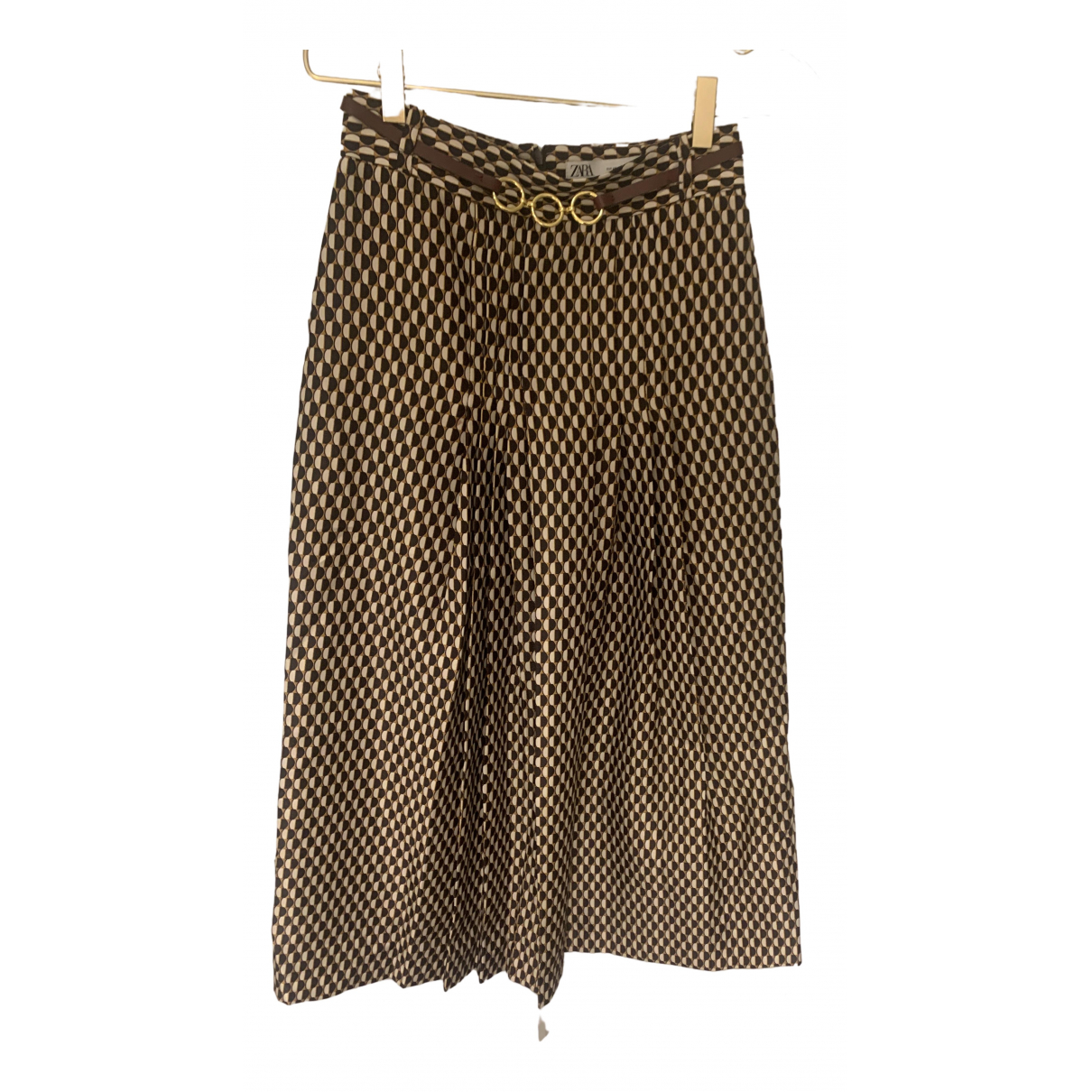 Zara \N Brown skirt for Women XS International