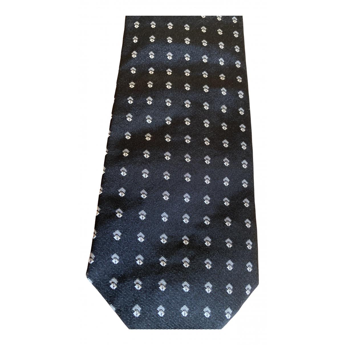 Gianni Versace - Cravates   pour homme en soie - gris