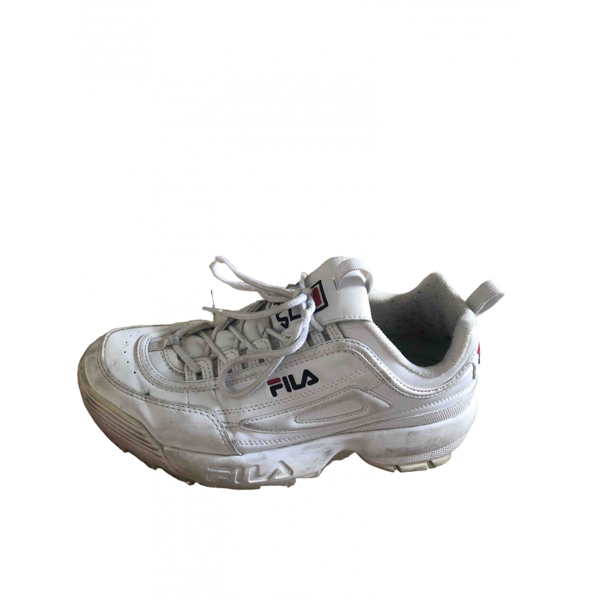 Fila \N Sneakers in  Weiss Leder