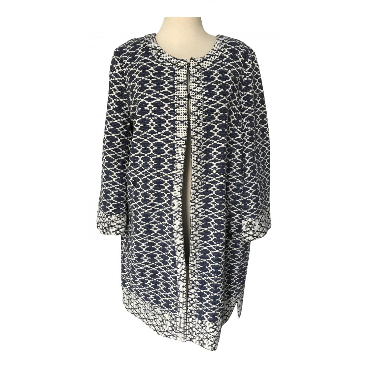 Ba&sh N Navy Cotton coat for Women 3 0-5