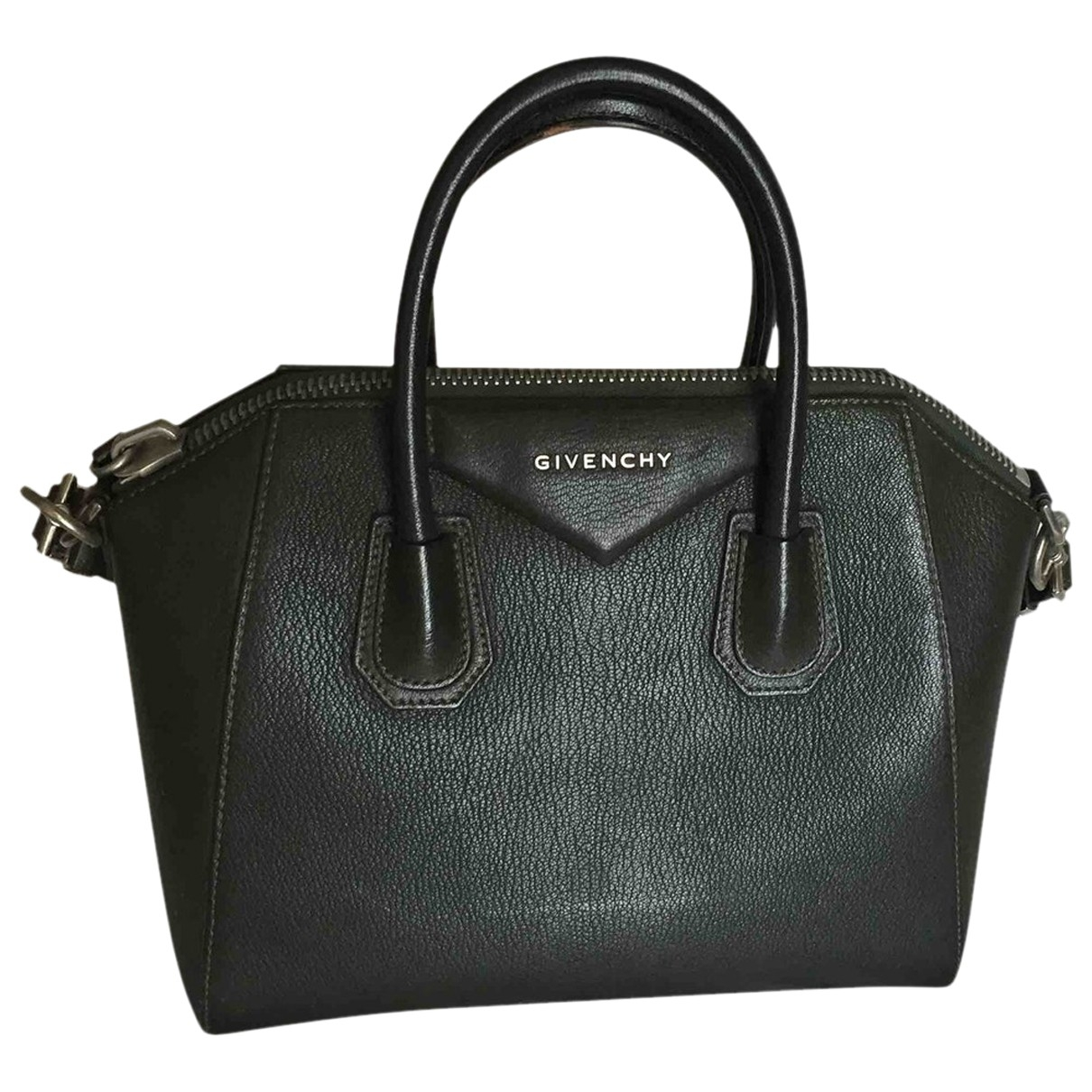 Givenchy Antigona Green Leather handbag for Women \N