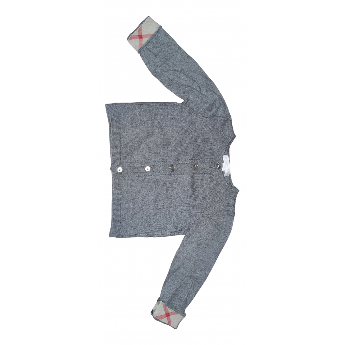 Burberry N Grey Cotton Knitwear for Kids 2 years - until 34 inches UK