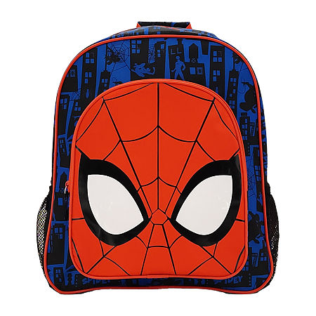 Disney Collection Boys Spiderman Backpack, One Size , Red