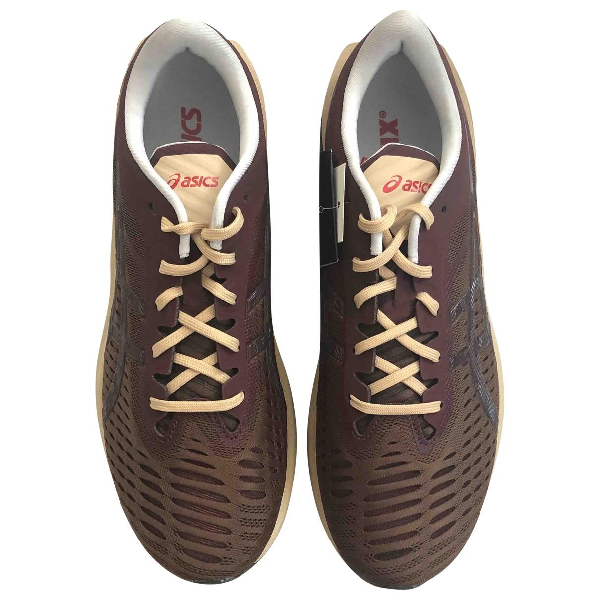 Asics X Kiko Kostadinov \N Sneakers in  Braun Kunststoff