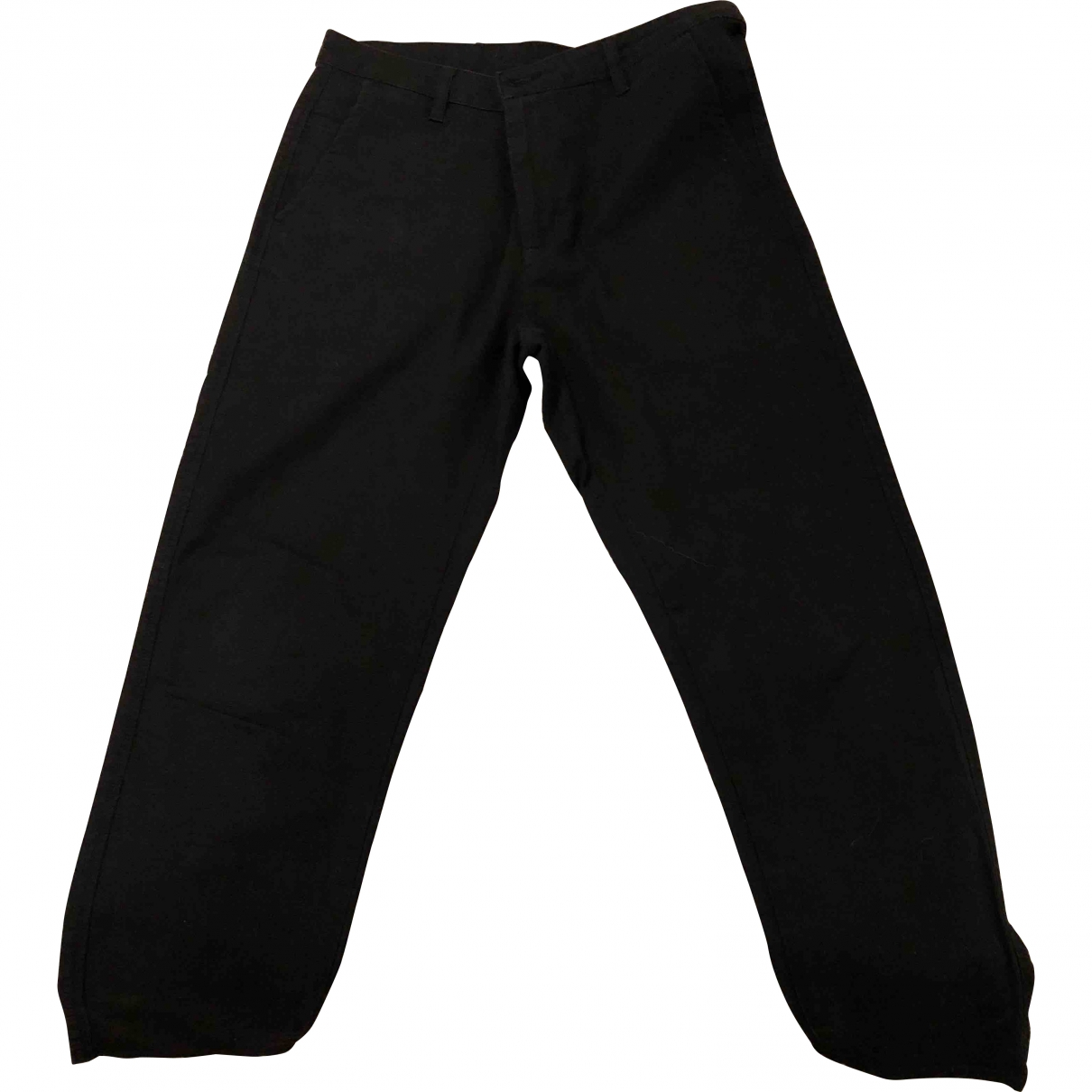 Carhartt \N Black Cotton Trousers for Women One Size FR