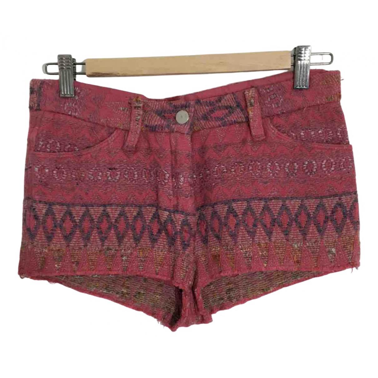 Iro \N Shorts in  Rosa Baumwolle