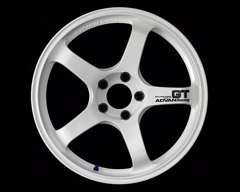 Advan GT Wheel 18x9.5 5x100 +40mm Racing White