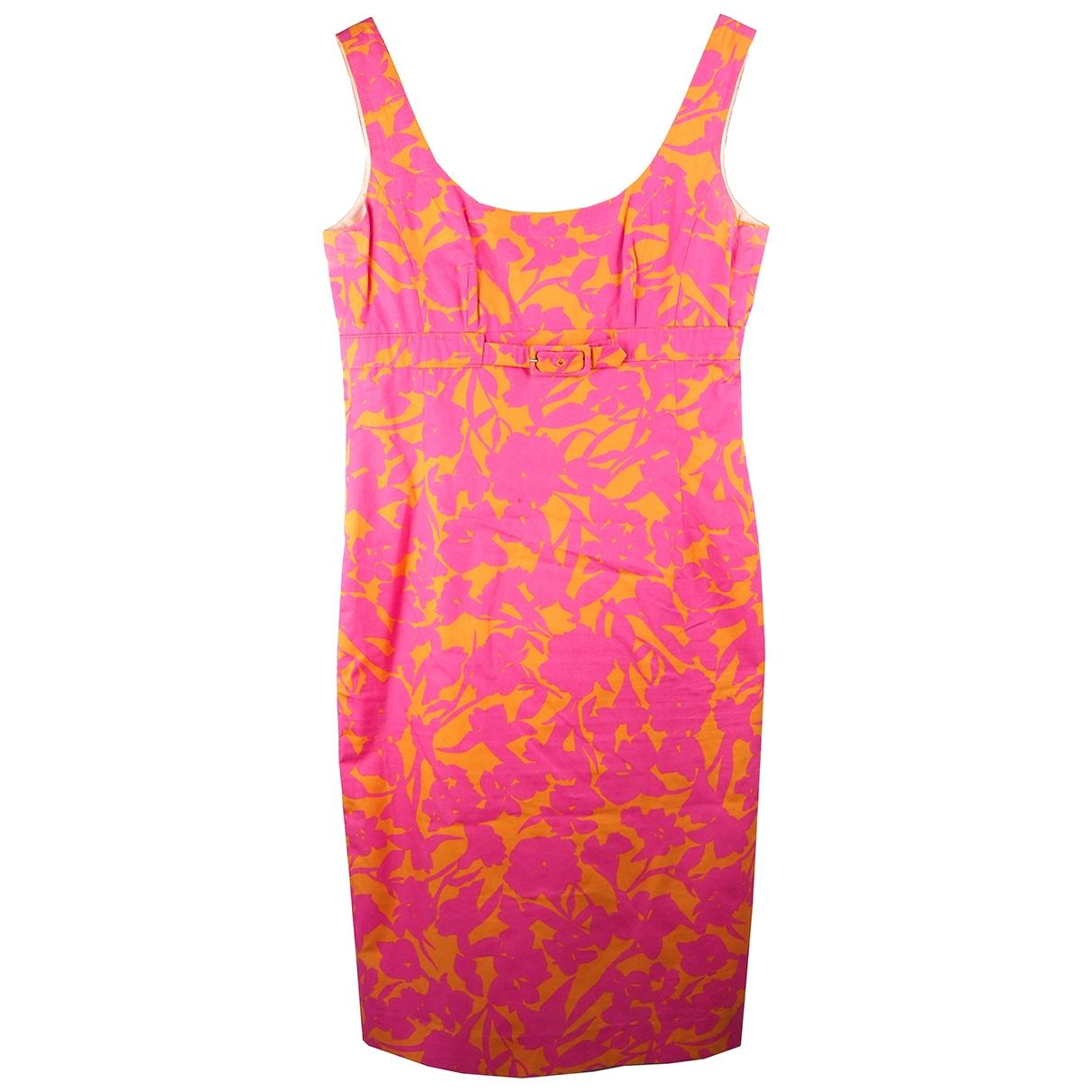 Bogner \N Kleid in  Rosa Baumwolle