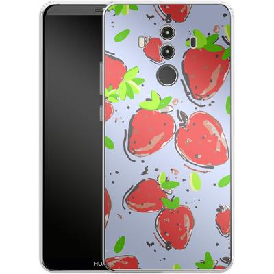 Huawei Mate 10 Pro Silikon Handyhuelle - Strawberry Crush von Mukta Lata Barua