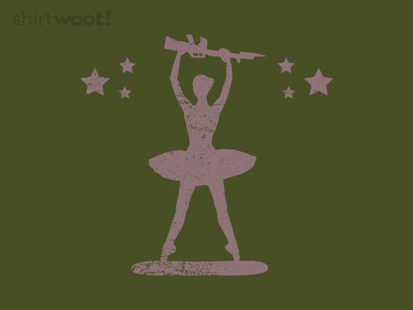G.i. Ballerina T Shirt
