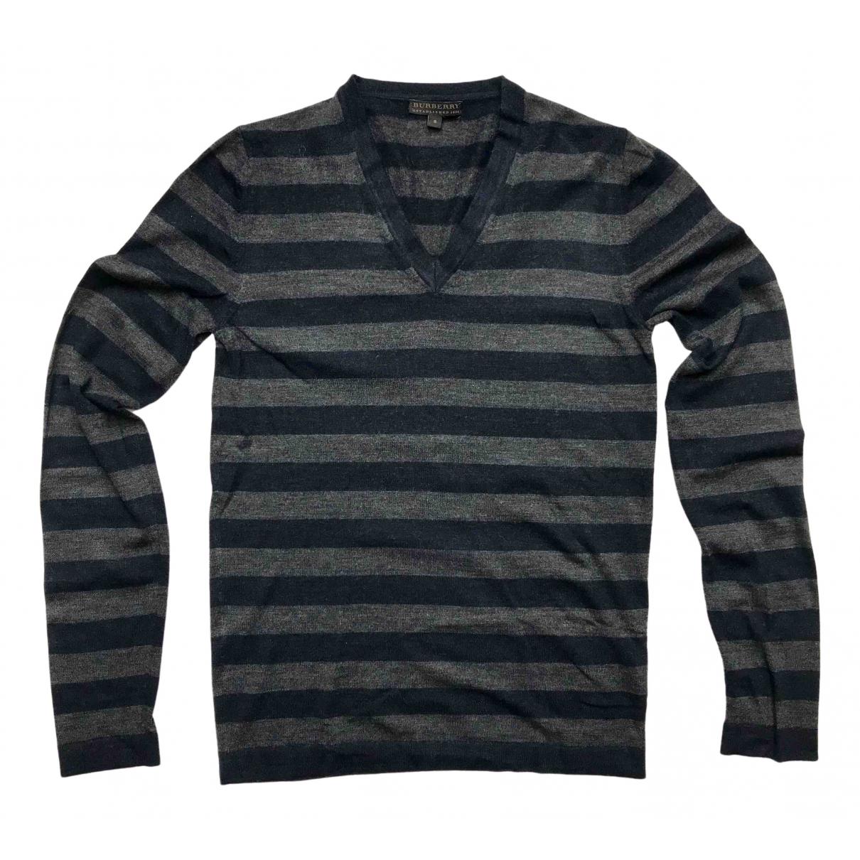 Burberry \N Pullover.Westen.Sweatshirts  in  Bunt Wolle