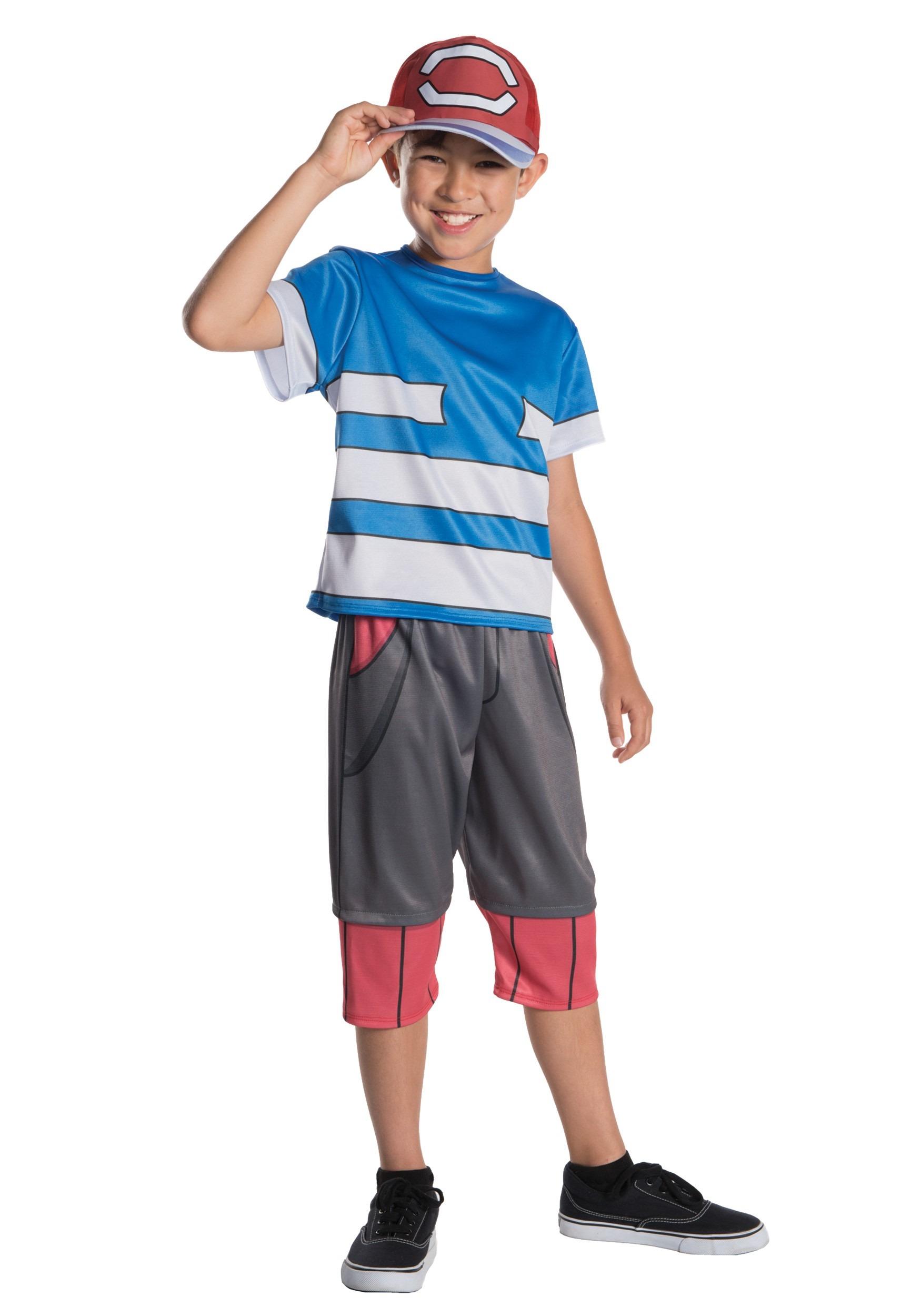 Pokemon Ash Costume For Kids