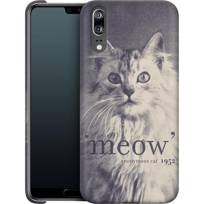 Huawei P20 Smartphone Huelle - Famous Quote Cat von Florent Bodart