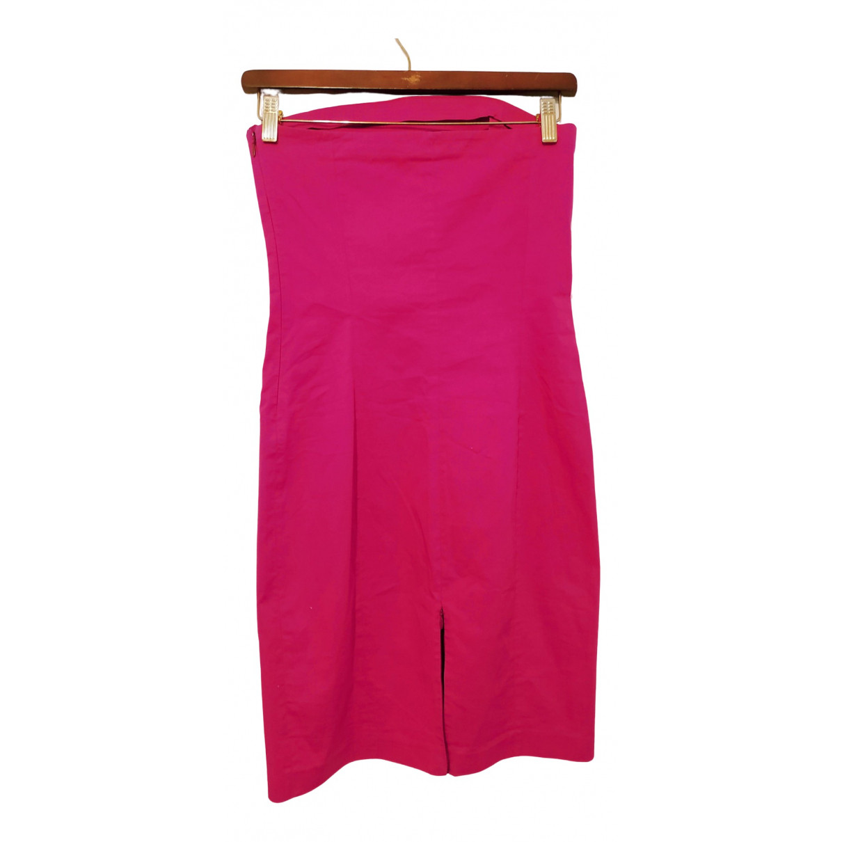 Patrizia Pepe N Pink Cotton - elasthane dress for Women 42 IT