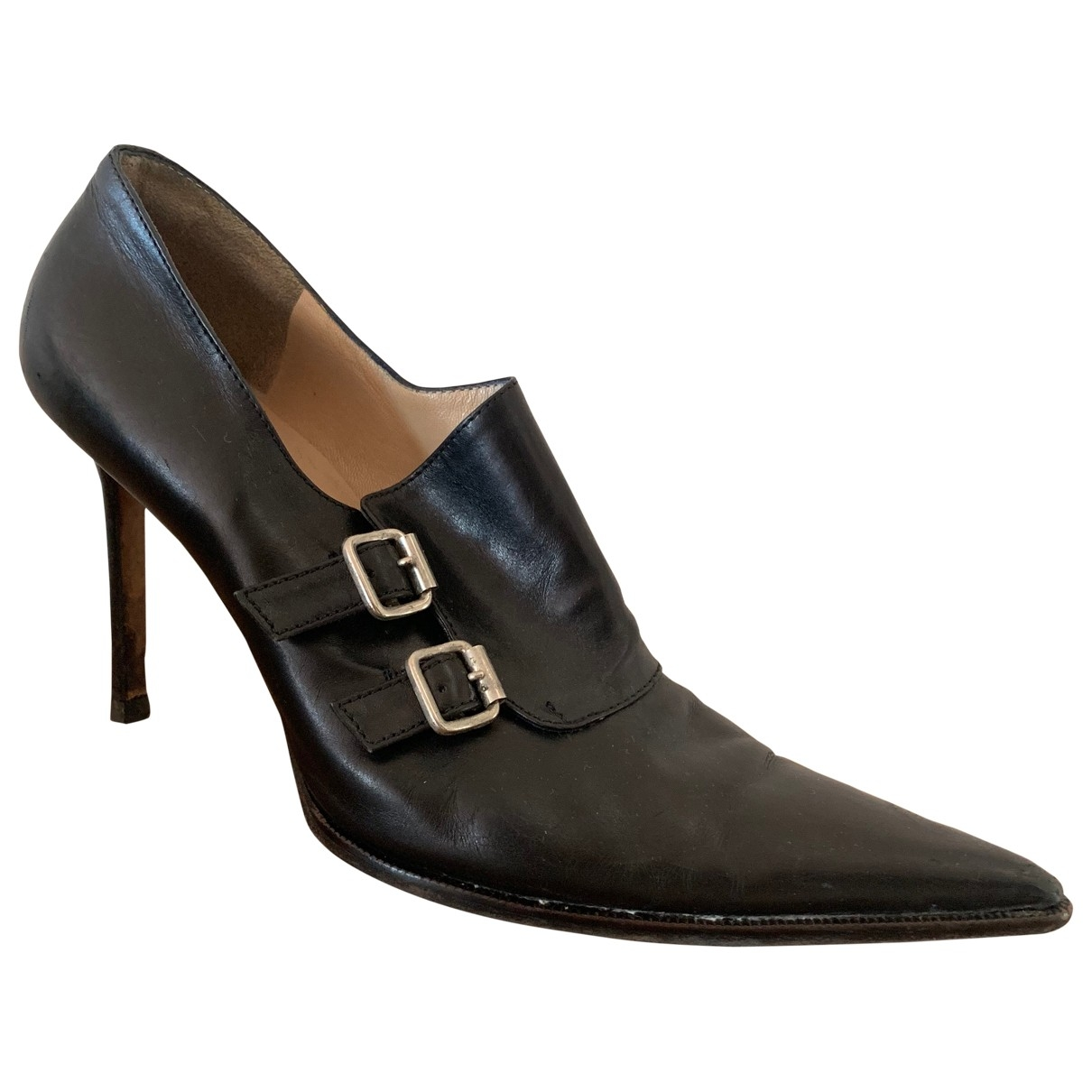 Michael Kors \N Black Leather Ankle boots for Women 8.5 US