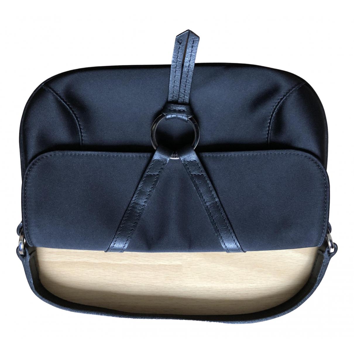 Longchamp \N Clutch in  Schwarz Seide