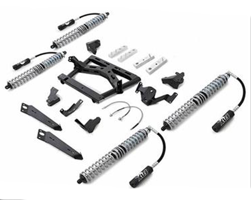 Rubicon Express JK444NB Extreme-Duty 4-Link Long Arm Coilover Kit Jeep Wrangler JK 07-16