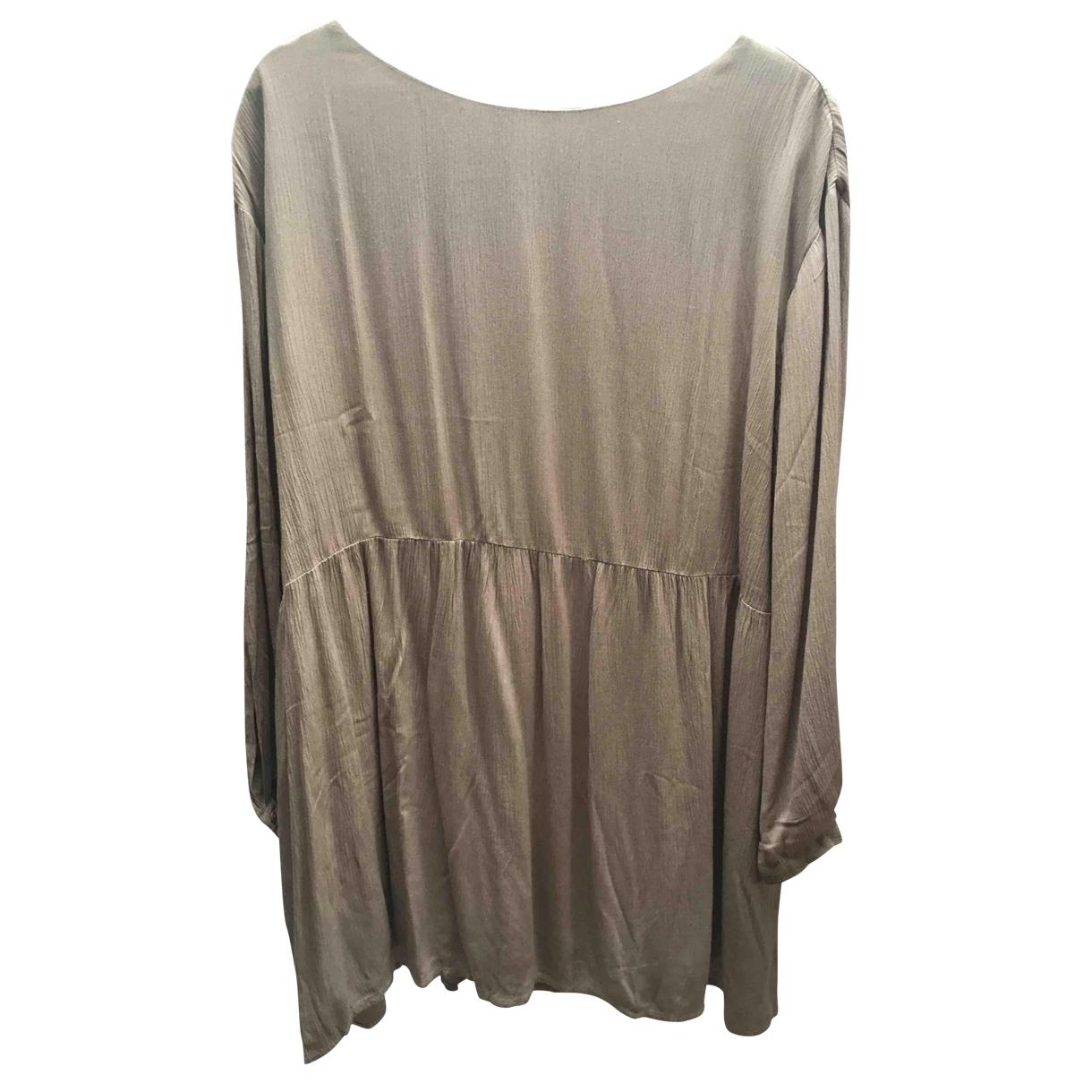 American Vintage \N Brown dress for Women L International