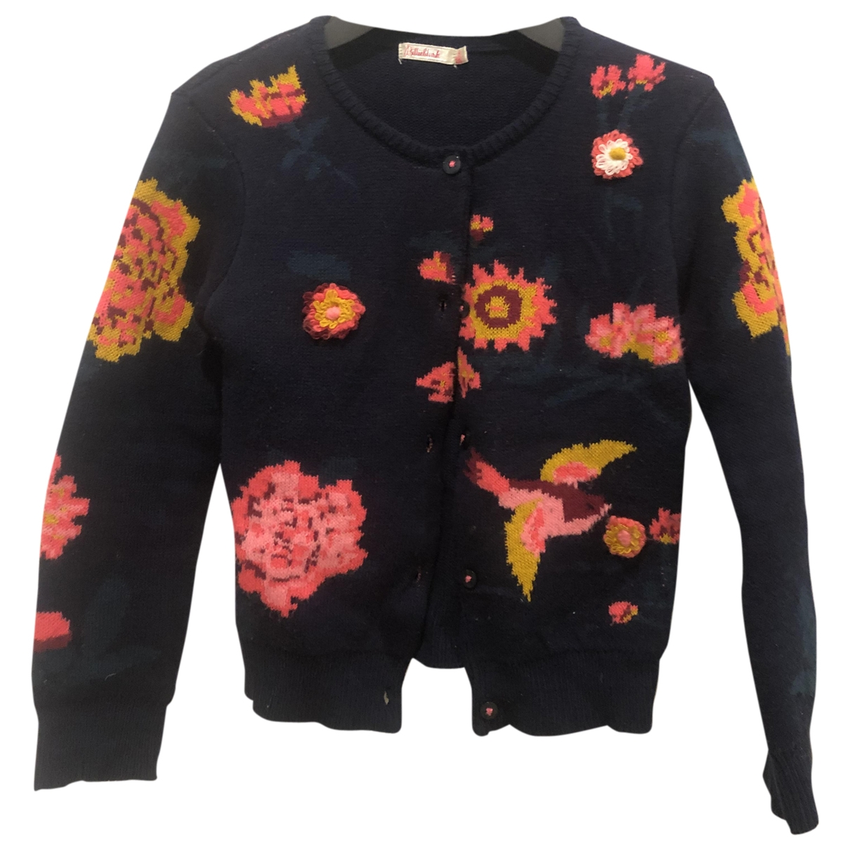 Billieblush \N Navy Cotton Knitwear for Kids 8 years - up to 128cm FR