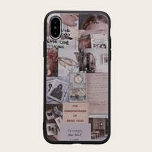 1pc Mixed Pattern iPhone Case