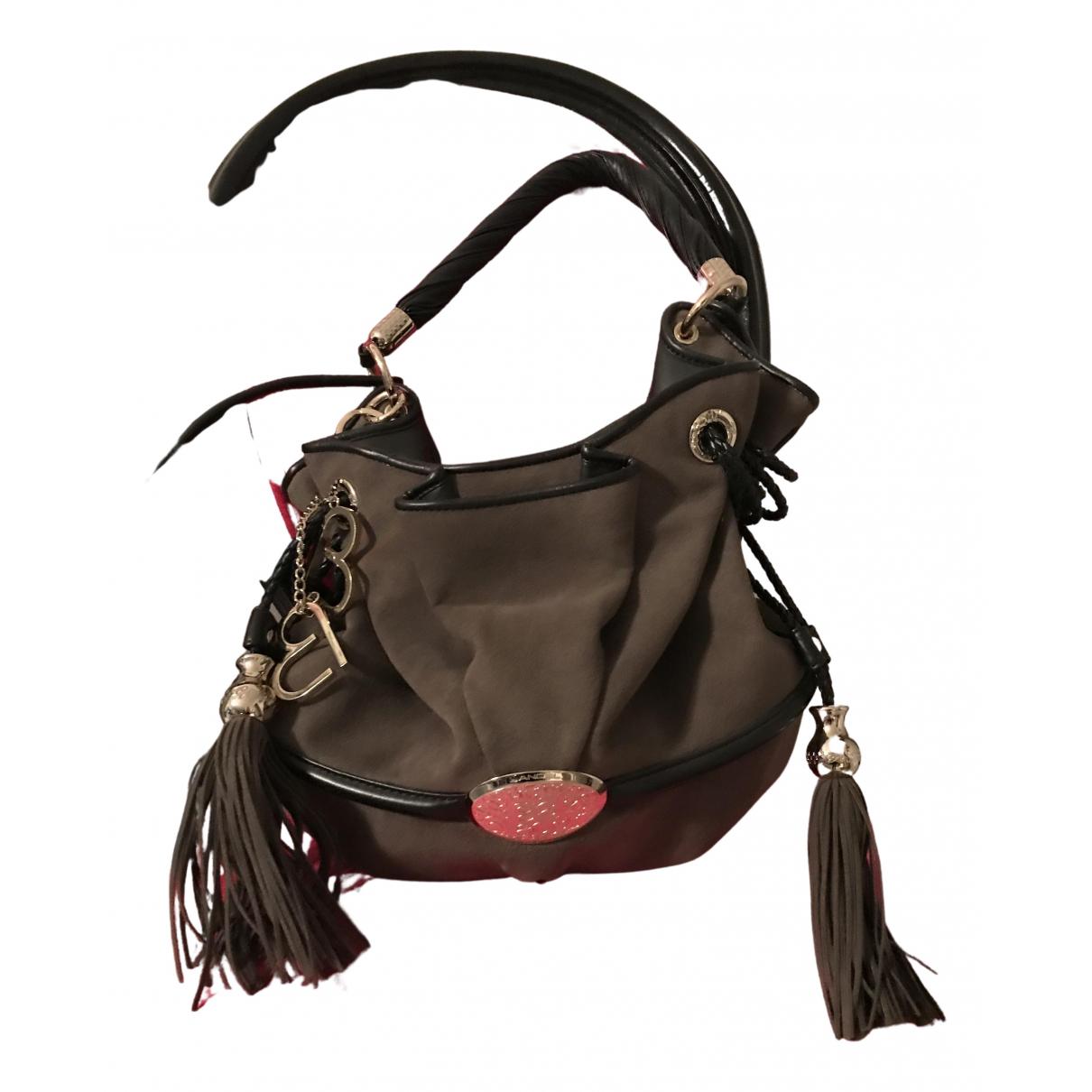 Lancel Brigitte Bardot Handtasche in Samt