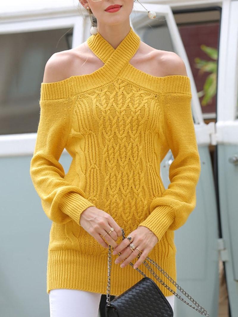 Ericdress Thin Slim Mid-Length Women's Sweater
