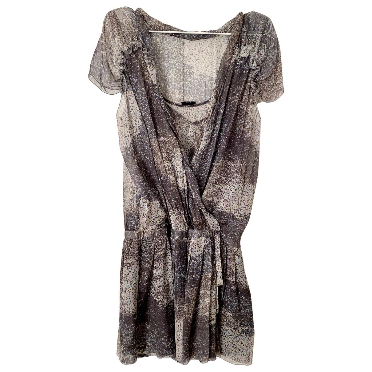 Joseph - Robe   pour femme en soie - multicolore