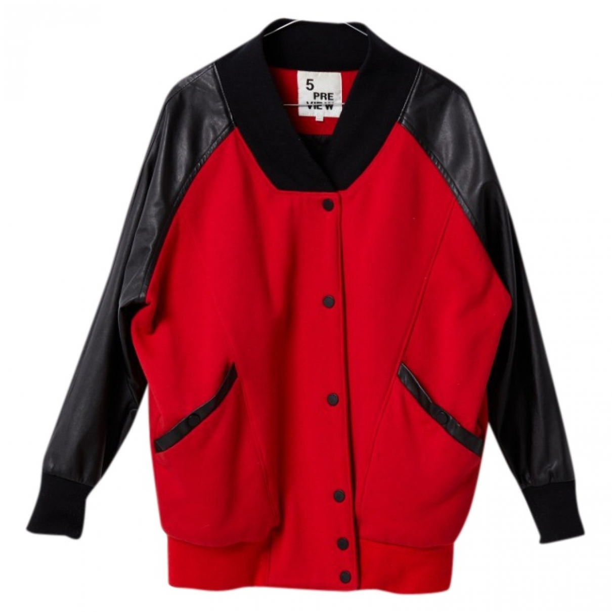 5 Preview \N Red Cotton jacket for Women 32 FR