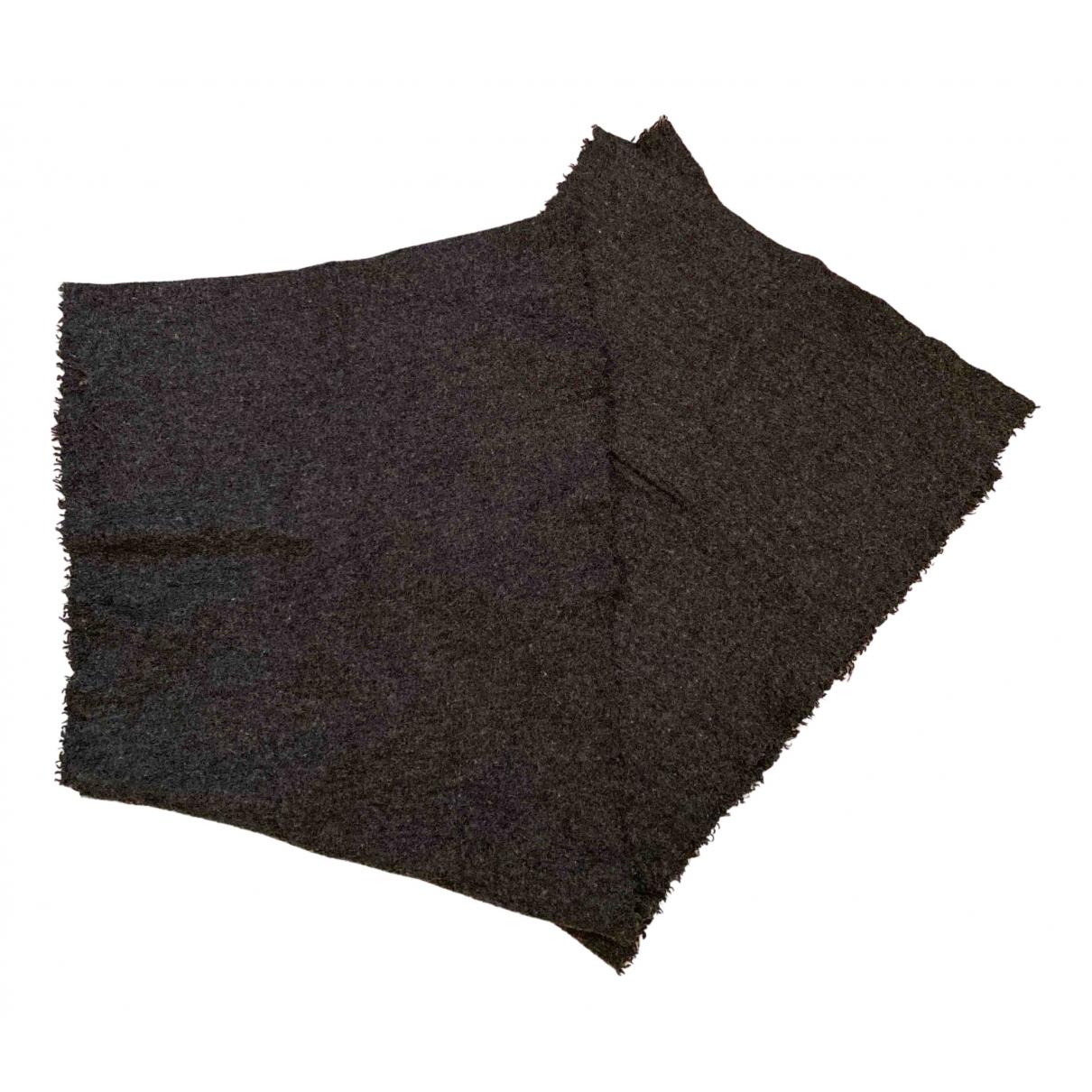 Faliero Sarti - Foulard   pour femme en laine - gris