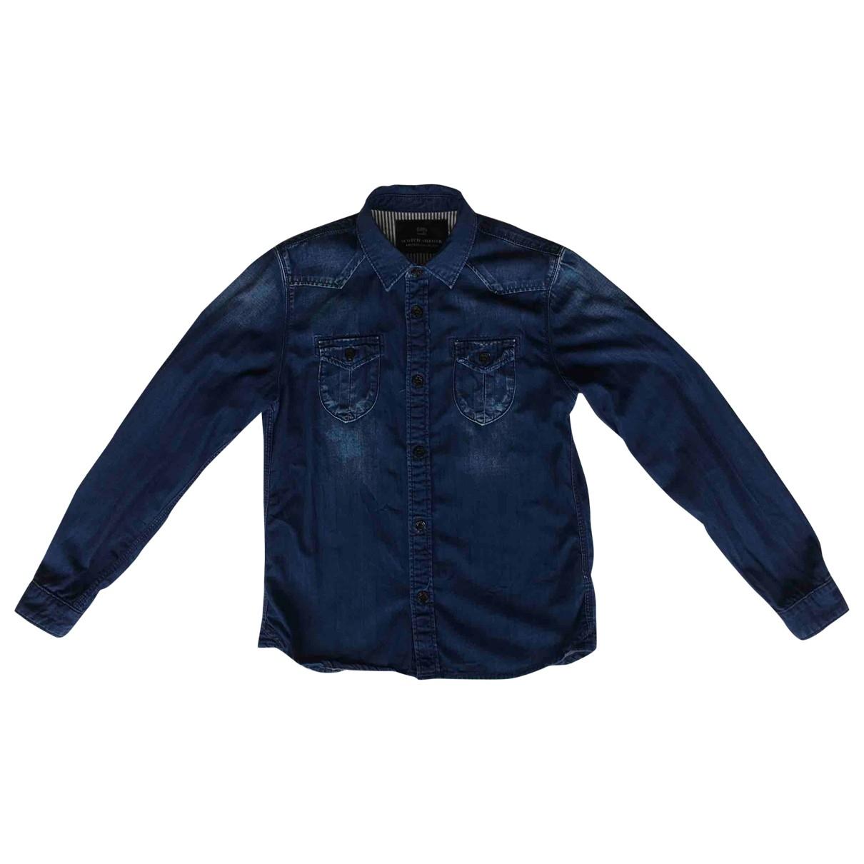 Scotch & Soda \N Oberteile in  Blau Denim - Jeans