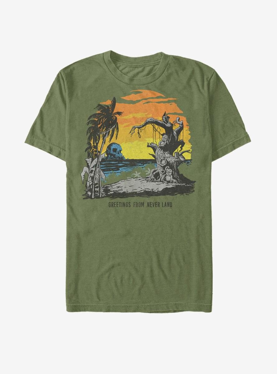 Disney Peter Pan Neverland Postcard T-Shirt