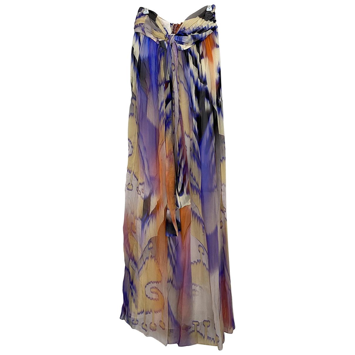 Maxi vestido de Seda Matthew Williamson