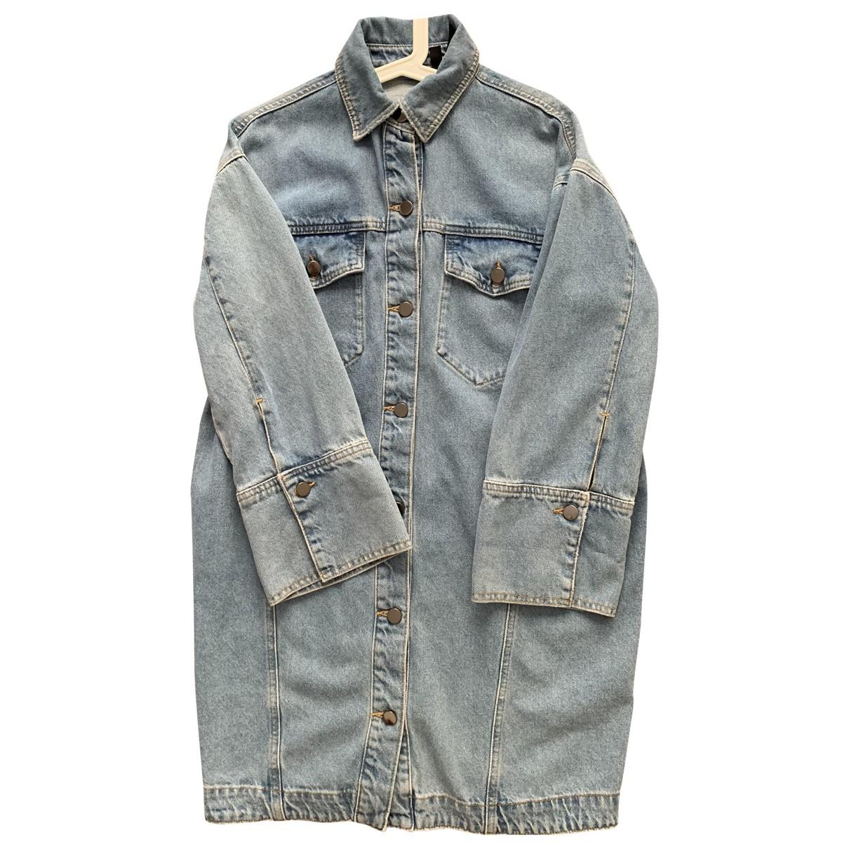 Tophop Boutique \N Jacke in  Blau Denim - Jeans