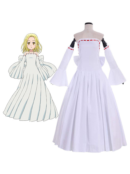 Milanoo The Seven Deadly Sins Cosplay Elaine Cosplay Costume