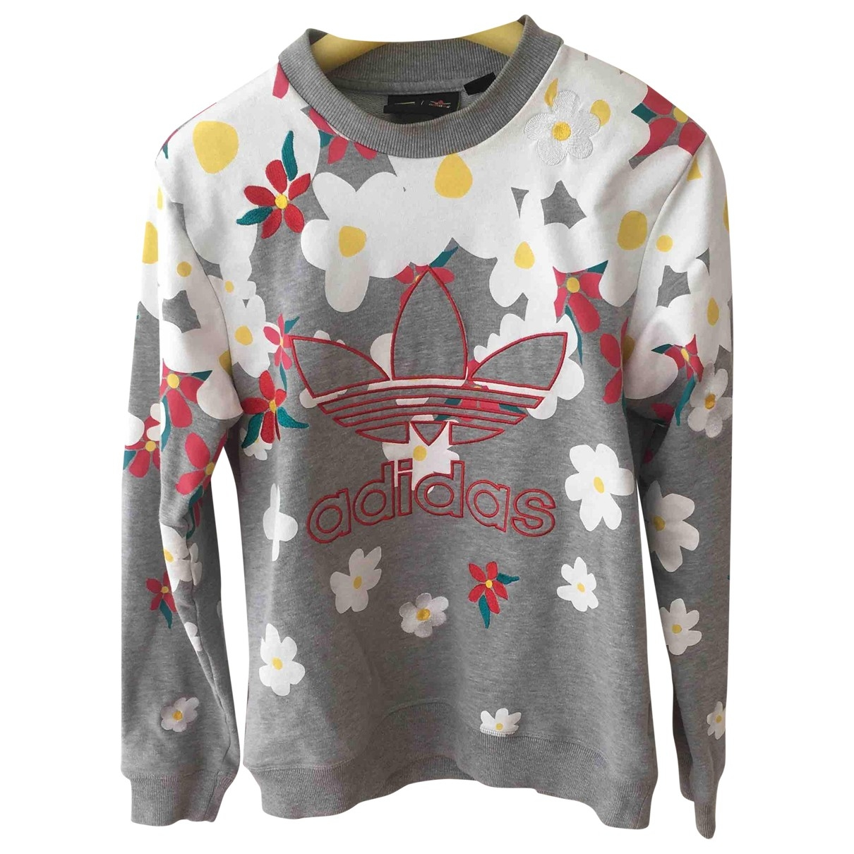 Adidas X Pharrell Williams - Top   pour femme en coton - gris