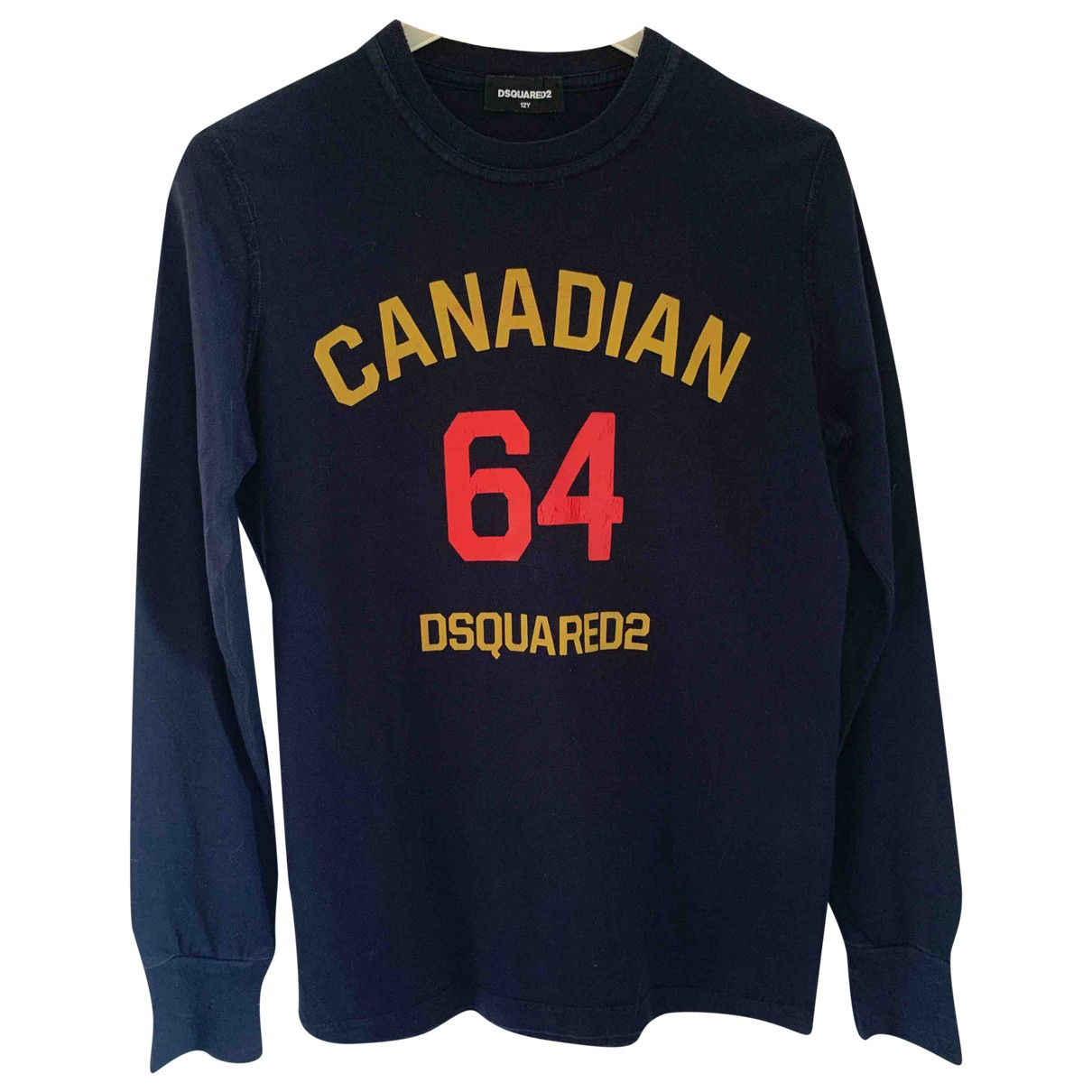 Dsquared2 \N Blue Cotton Knitwear for Kids 12 years - XS FR